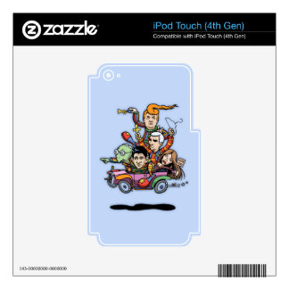 GOP Clown Car '16 Skins For iPod Touch 4G