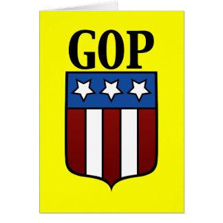 GOP Coat of Arms Card