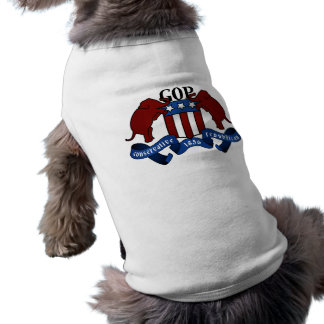 GOP Coat of Arms Pet Tshirt