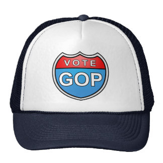GOP del voto Gorros