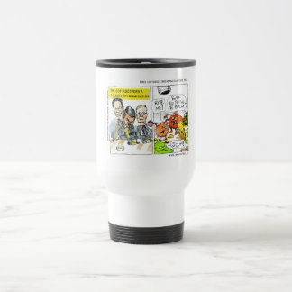 GOP Discovers Culture Of Intimidation Funny Travel Mug