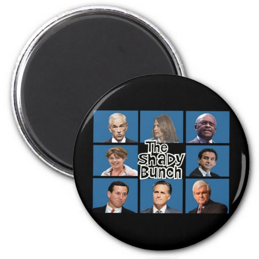GOP - El manojo sombrío - Paul Romney Palin Bachma Imán De Frigorifico