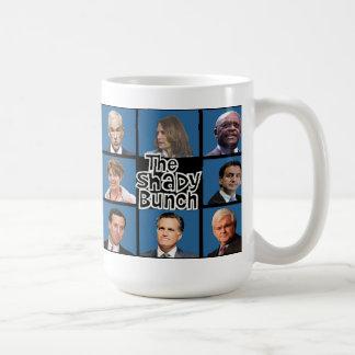 GOP - El manojo sombrío - Paul Romney Palin Bachma Taza Básica Blanca