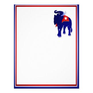 """GOP Elephant 8.5"""" x 11"""" Letterhead"""
