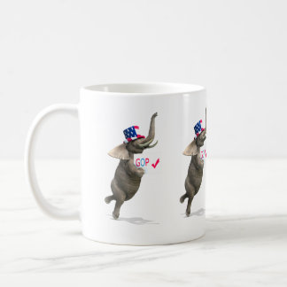 GOP Elephant Coffee Mug