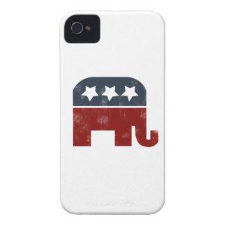 GOP elephant logo iPhone 4 Case-Mate Cases