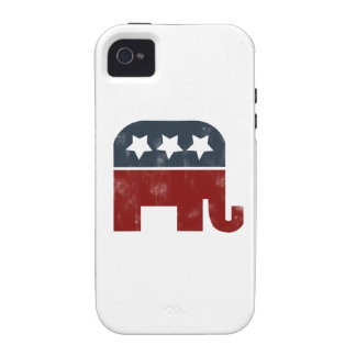 GOP elephant logo Case For The iPhone 4