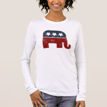 GOP elephant logo Long Sleeve T-Shirt