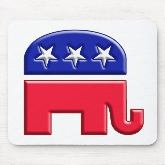 GOP Elephant Logo Mouse Pad