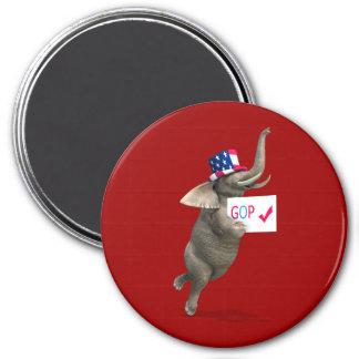 GOP Elephant Magnet
