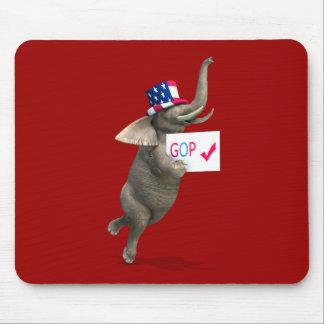 GOP Elephant Mouse Pad