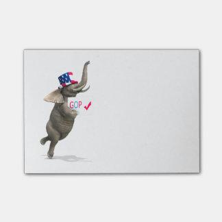 GOP Elephant Post-it® Notes