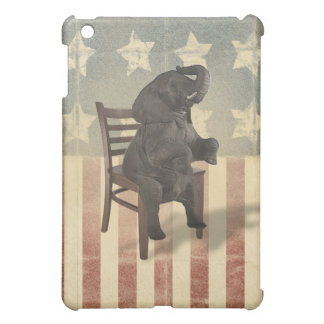 GOP Elephant Takes Over the Chair Funny Political Case For The iPad Mini