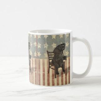GOP Elephant Takes Over the Chair Funny Political Mug