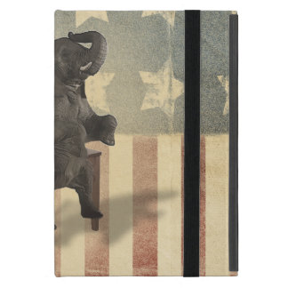 GOP Elephant Takes Over the Empty Chair iPad Mini Cover