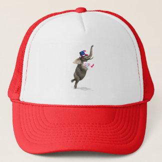 GOP Elephant Trucker Hat