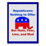 GOP Fearmongers Postcard