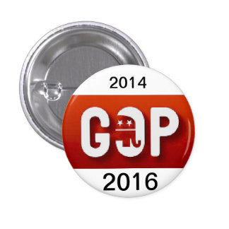 GOP For The USA 2016 Button by ABR  No. 2016