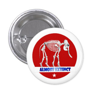 GOP Fossil Pinback Buttons