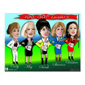 GOP Gals Postcard