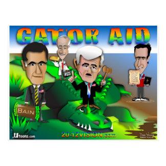 GOP Gator Aid Postcard