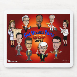 GOP Get Obama Party Mouse Pad