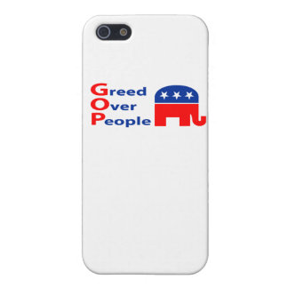 GOP - Greed Over People Case For iPhone SE/5/5s