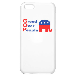 GOP - Greed Over People Case For iPhone 5C
