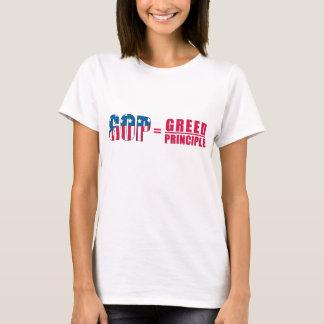 GOP = Greed Over Principle Ladies' Shirt version 2