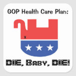 GOP Health Care Plan Stickers