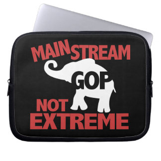 GOP is Mainstream Not Extreme Computer Sleeve