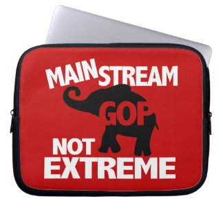 GOP is Mainstream Not Extreme Computer Sleeves