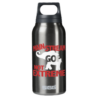 GOP is Mainstream Not Extreme Insulated Water Bottle