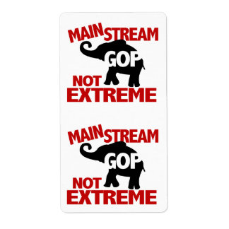GOP is Mainstream Not Extreme Label