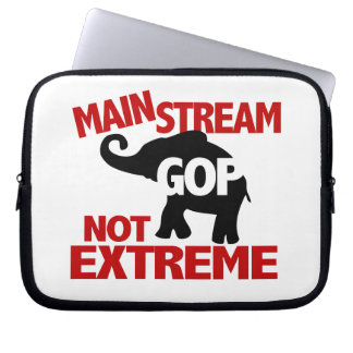 GOP is Mainstream Not Extreme Laptop Sleeves