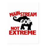 GOP is Mainstream Not Extreme Postcard