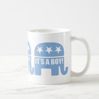 "GOP ""It's A Boy"" Mugs"