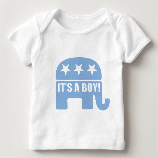 "GOP ""It's A Boy"" Toddler Long Sleeve Baby T-Shirt"