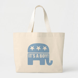 "GOP ""It's A Boy"" Totebags Canvas Bag"