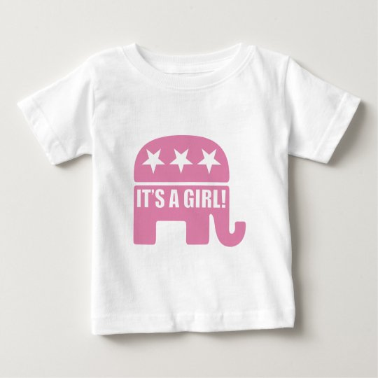 "GOP ""It's A Girl"" Toddler T-shirts"