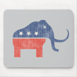 GOP Mammoth Logo Mouse Pad