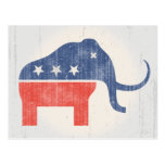 GOP Mammoth Logo Post Cards