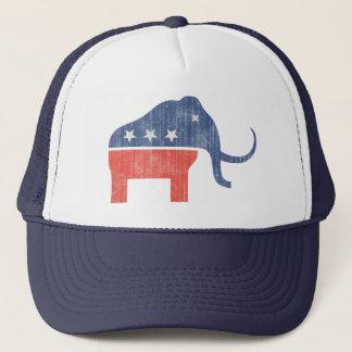 GOP Mammoth Logo Trucker Hat