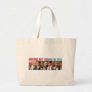 GOP Nine - 2012 Republican Primary Election Large Tote Bag