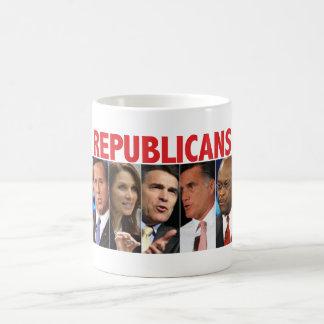 GOP Nine - 2012 Republican Primary Election Coffee Mug