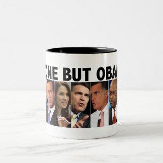 GOP Nine - 2012 Republican Primary Election Two-Tone Coffee Mug
