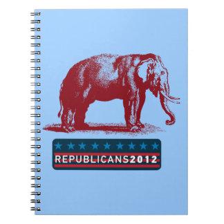 GOP Patriotic Republicans 2012 Notebook