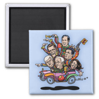 GOP Primary Car 2 Inch Square Magnet