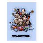 GOP Primary Car Postcards