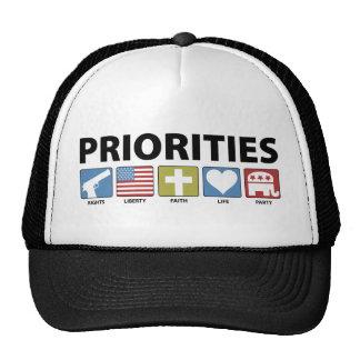 GOP Priorities Trucker Hat